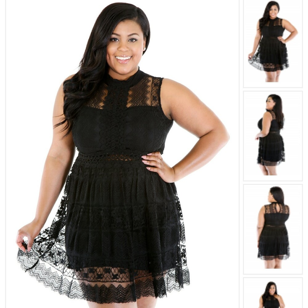 Image of blush black