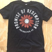 Image of Promise of Redemption Flowers Tee Black