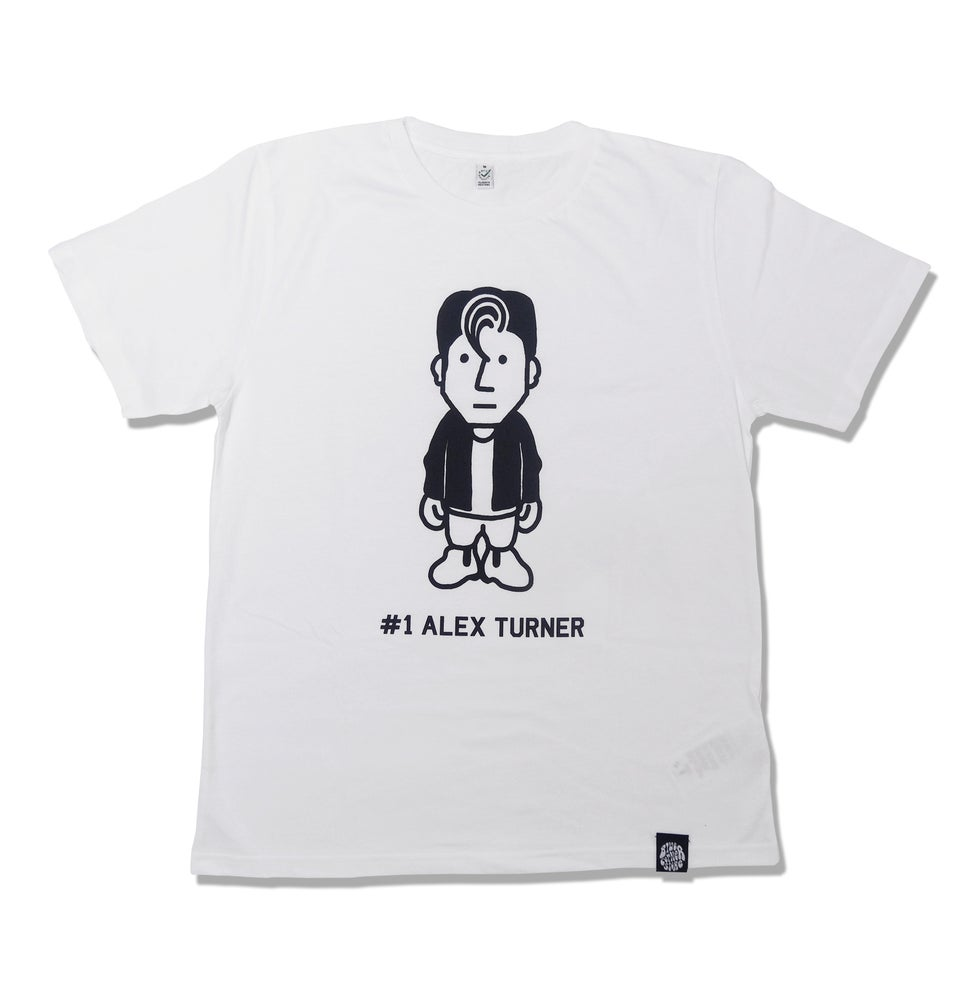 Image of #1 ALEX TURNER (WHITE)
