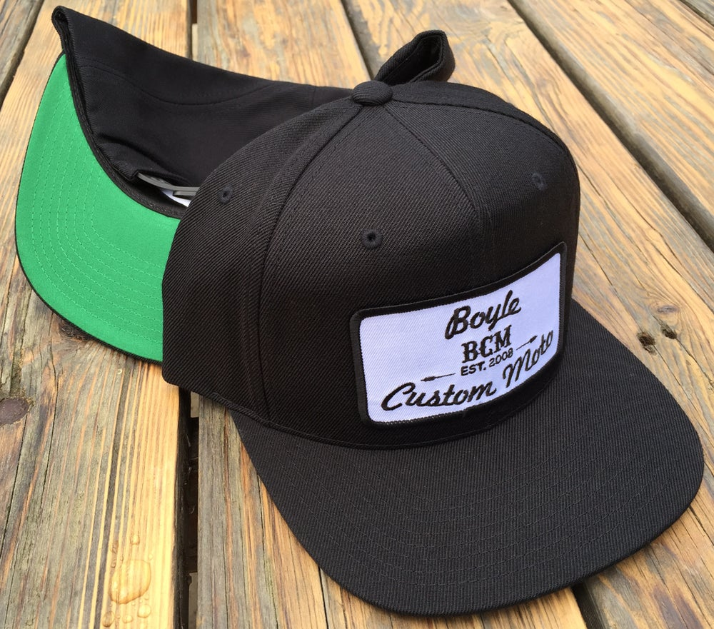 Image of  BCM - 6 Panel Green Under-Bill Snap back