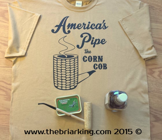 Image of America's Pipe the Corn Cob Tee Shirt