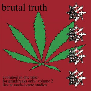 "Image of Brutal Truth ""Evolution in one take: for freaks only!"" Volume 2 LP"