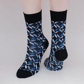 Image of Soft Merino Dress Socks - Silver Lining