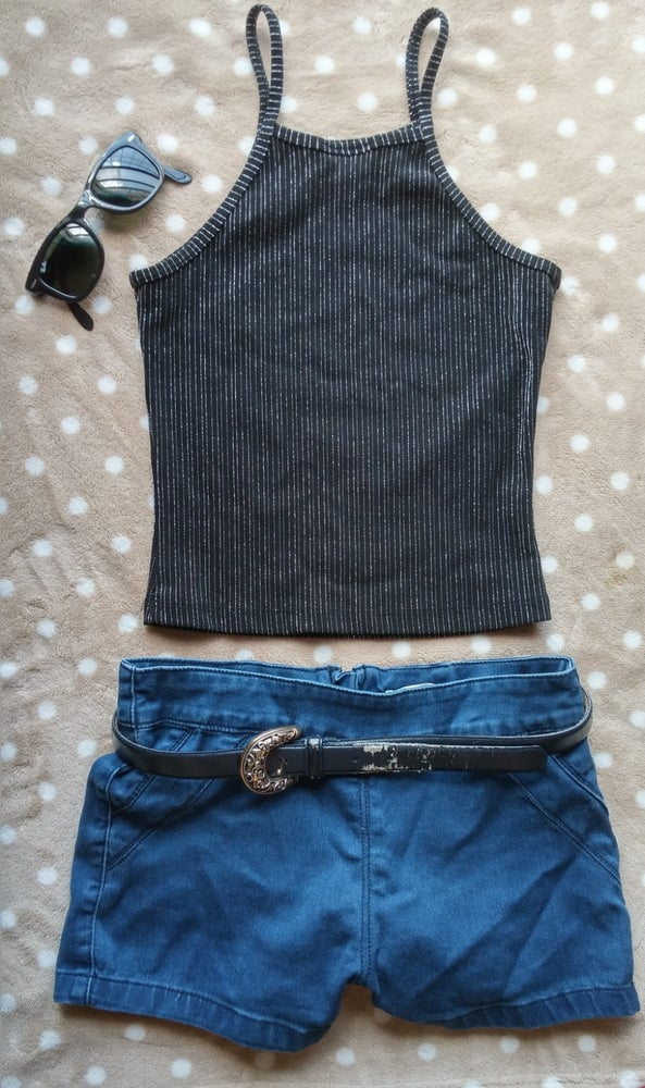 Image of Vintage 1990s crop top