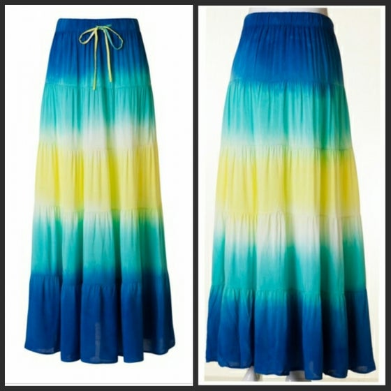 Image of FADED COLORS MAXI