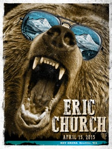 Image of ERIC CHURCH. Seattle WA
