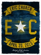Image of ERIC CHURCH. Raleigh NC
