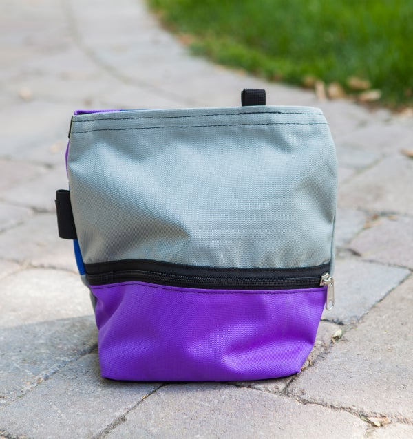 Purple Organic Chalk Bucket - Avate Apparel