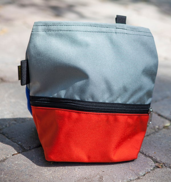 Orange Organic Chalk Bucket - Avate Apparel