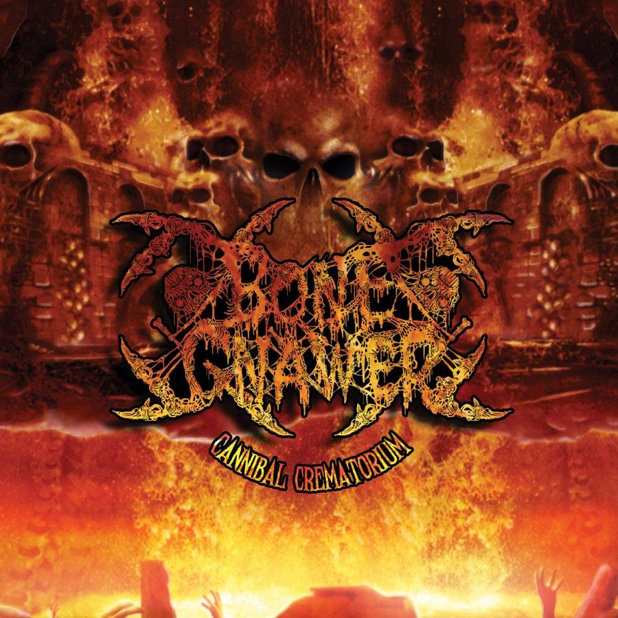 "Image of BONE GNAWER ""Cannibal Crematorium"" Gatefold LP"