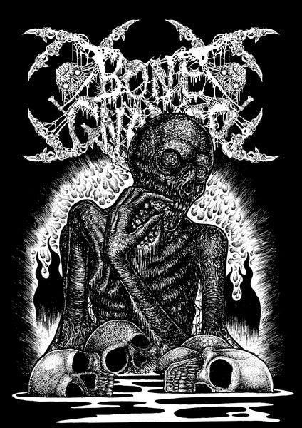 "Image of BONE GNAWER ""Cannibal Crematorium"" T-Shirt"