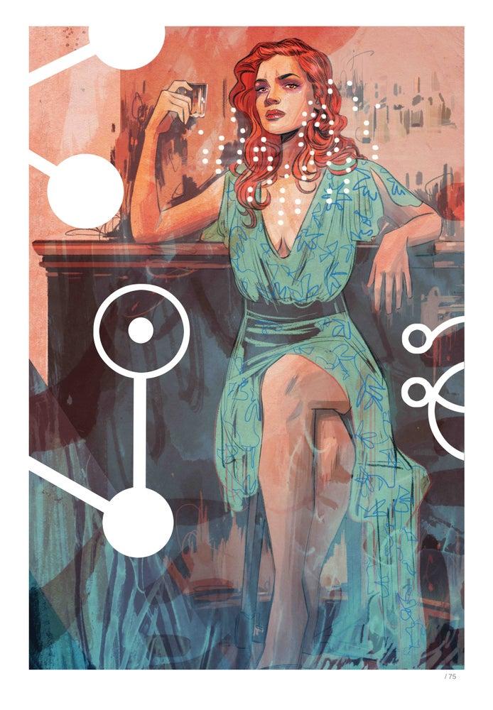 Image of Supreme Blue Rose #2 - Limited Edition Indigo Print