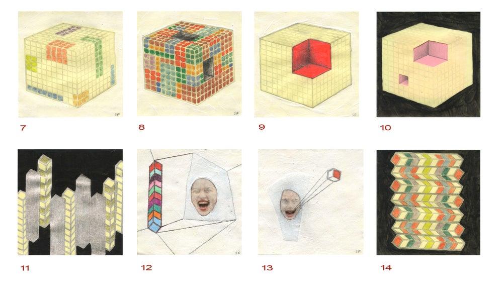 Image of Geometric Post-It's