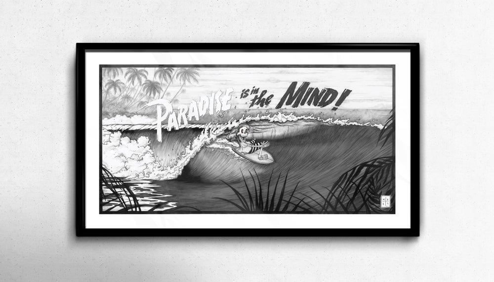 Image of 'Paradise is in the Mind' Print