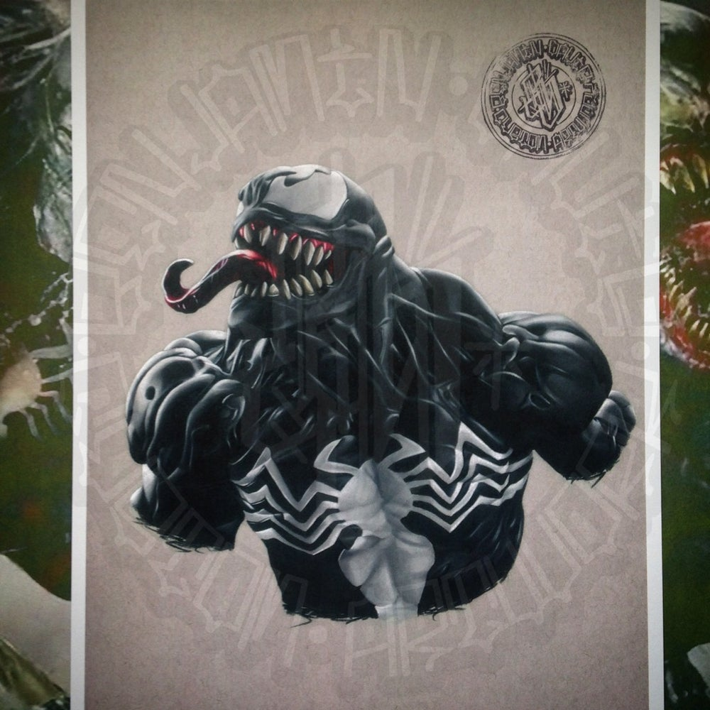 Image of Limited edition venom print (A4)