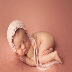 Image of ~ Crepele Blush bonnet ~