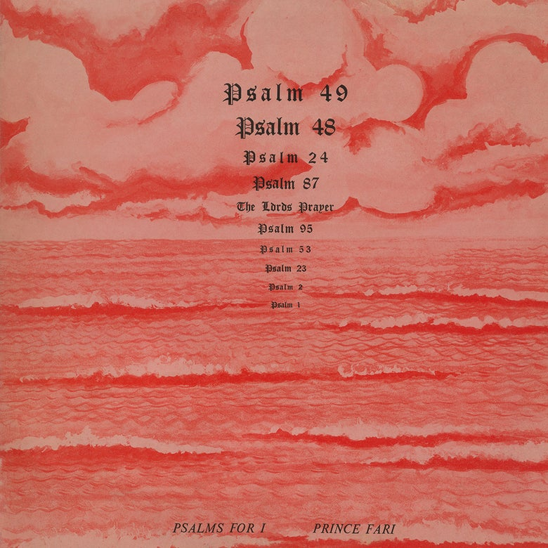 Image of Prince Far I - Psalms For I LP / CD (Book of Psalms)