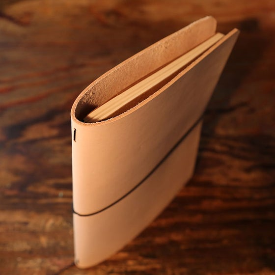 Image of Single Extra Large Moleskine Cahier Leather Cover