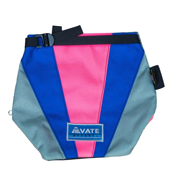 Pink Organic Chalk Bucket - Avate Apparel