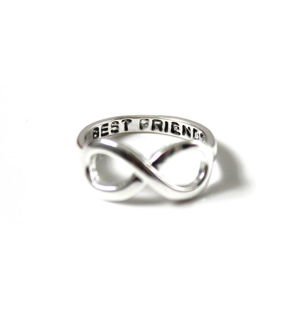 Image of BEST FRIENDS INFINITY RING