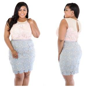 Image of Pastel Crochet Dress