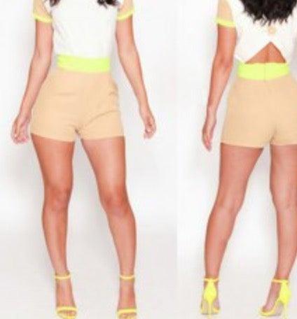 Image of Color Block Jumpsuit
