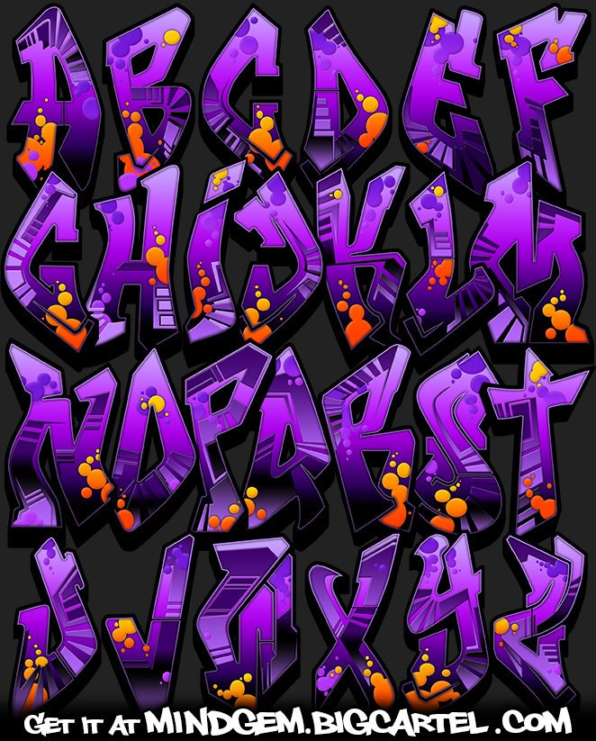 Image of Graffiti Font - Salmiak