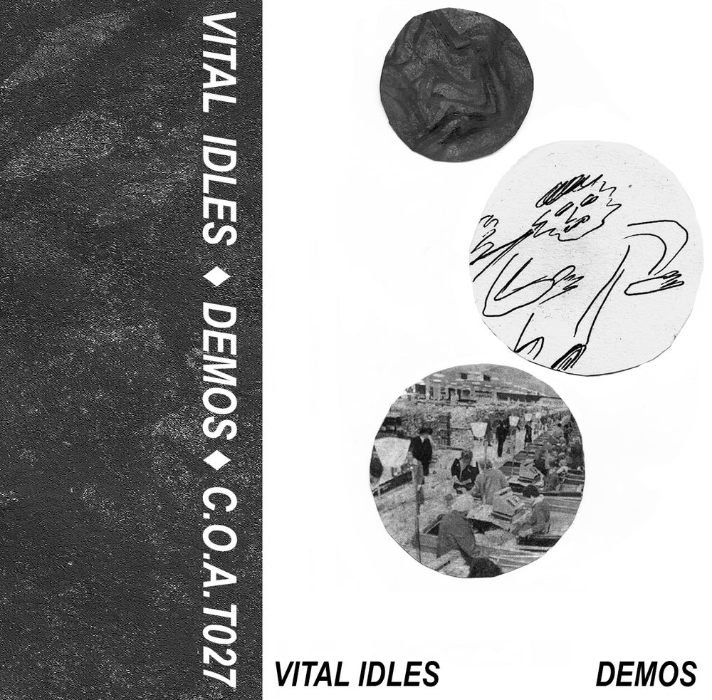 Image of VITAL IDLES <br /> 'DEMOS' <br /> debut cassette album