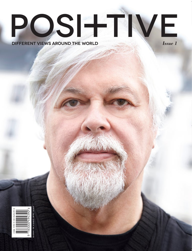 Image of POSITIVE MAGAZINE ISSUE 1
