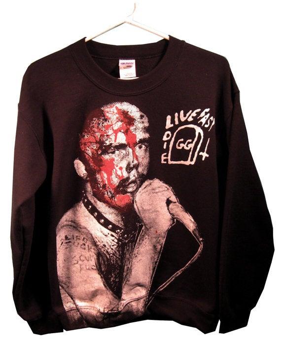 Image of GG Allin Unisex Sweatshirt