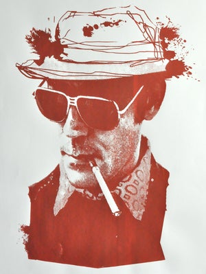 Image of Hunter S. Thompson Limited Edition Poster