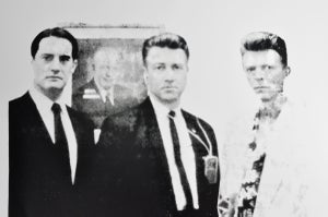 Image of FBI Twin Peaks: FBI Agents (David Lynch & David Bowie) Limited Edition Poster