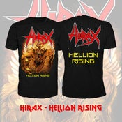 "Image of HIRAX ""Hellion Rising"" T-SHIRT"