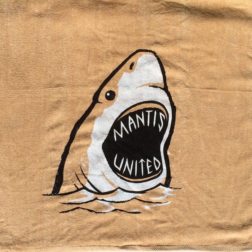Image of Mantis Shark Week Towel Beige