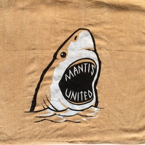 Image of Mantis Shark Week Towel Beige