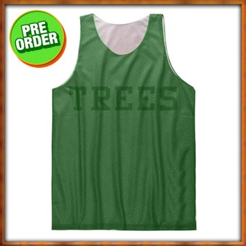 Image of Trees Practice Jersey - Green/Green