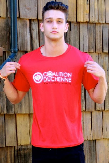 Image of Coalition Duchenne Athletic Tee