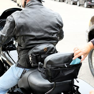 Image of New! The Bone® DOUBLE IMPACT Pocket (for PASSENGER PADS) Backrest  » '09-'17 models BC#106010