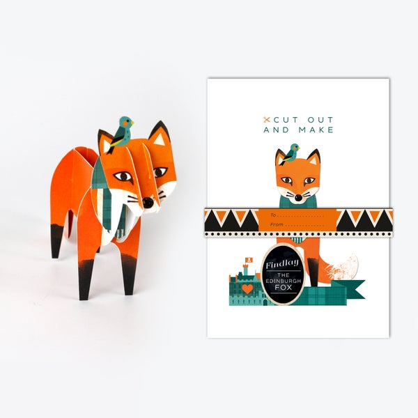 Image of Cut Out and Make Harris the Edinburgh Fox