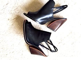 Image of Open toe/ Sling Back Shoes