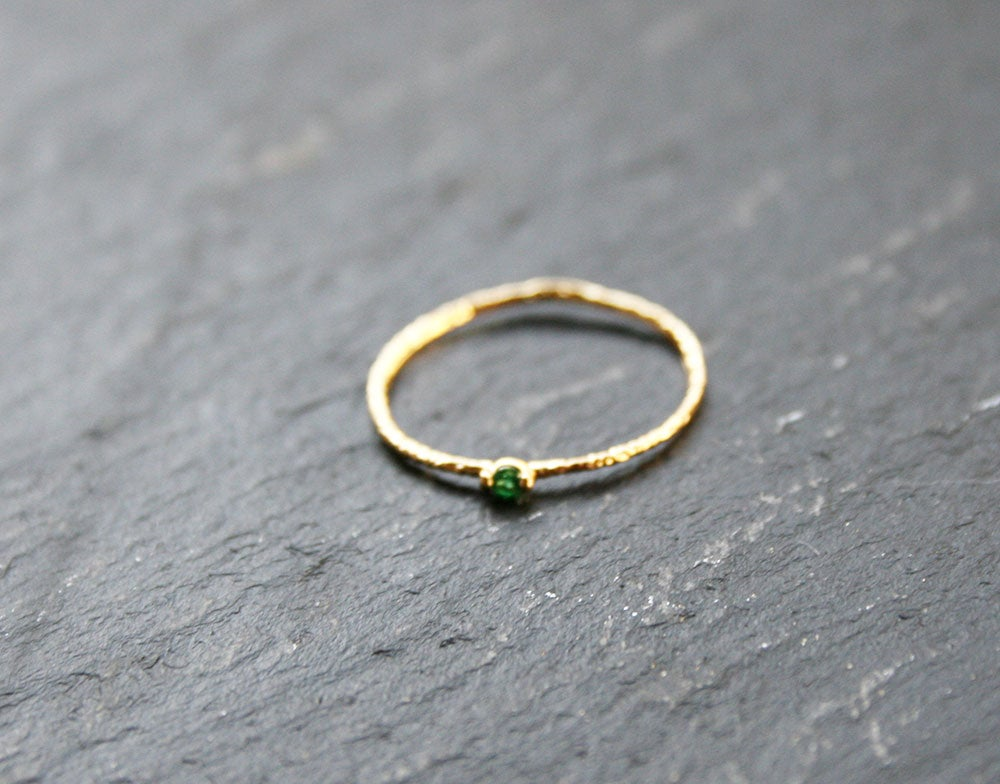 Image of Green zirconia ring