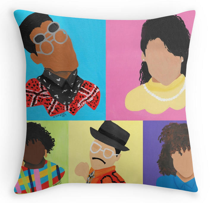 "Image of ""Different"" Throw Pillow"