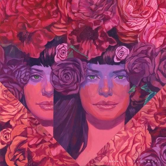 "Image of ""Hallie"" Original Artwork"