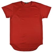 Image of TECHNO RED LONG TEE