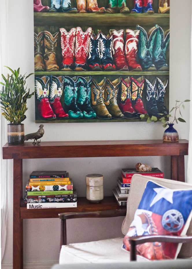 "Image of ""Fancy Footwear"" Canvas Gicleé"