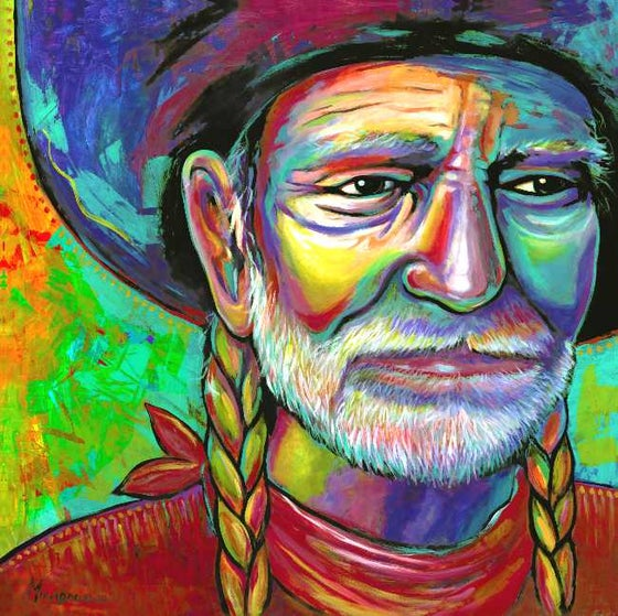 """Image of """"Willie"""" Canvas Gicleé"""