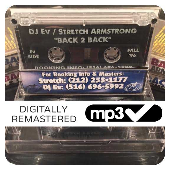 "Image of DJ Ev & Stretch Armstrong - ""Back 2 Back"" • Fall '96 MP3"