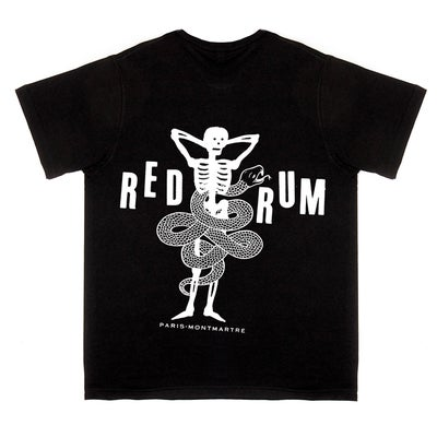 Image of REDRUM black basic t-shirt