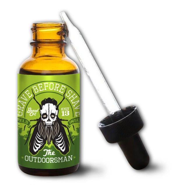 """Image of GRAVE BEFORE SHAVE Beard Oil """"The Outdoorsman Blend"""""""