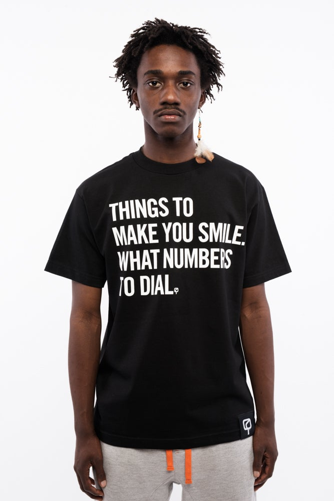 Image of MAD QUESTION ASKING - Shirt (BLACK)